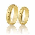 Alianças em Ouro 10k Diamantadas