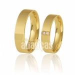Alianças de Casamento com Diamantes