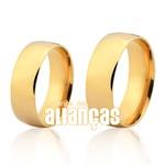 Alianças Abauladas de Ouro Peso 13,60 Gramas Compre Aqui