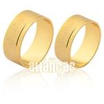 Alianças Baratas De Noivado e Casamento Em Ouro Amarelo 18k