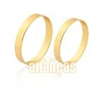 Alianças Lindas De Ouro 18k