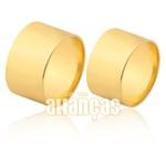 Lindas Alianças De Casamento Ouro 18k