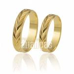 Alianças de Casamento Diamantadas 10k