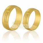 Alianças De Noivado Em Ouro 18k