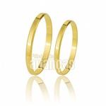 Alianças De Casamento Em Ouro Amarelo 10k
