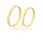 Alianças Delicada Em Ouro 10K