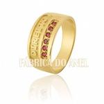 Anel De Formatura Em Ouro Amarelo 18k 0,750 Fa-603-2