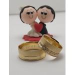 Alianças De Noivado e Casamento Em Ouro 18k Diamantado
