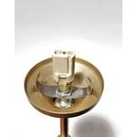 Arandela tocha Luminária de Parede Jabuticaba-Alamin LE12/1P-Dourado
