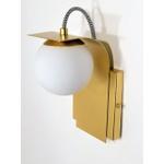 Arandela Luminária de Parede Sfera Jabuticaba-Alamin LE16/1P-Dourado