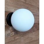Arandela Luminária de Parede Plafon Jabuticaba-Alamin LE23/1G-Preto