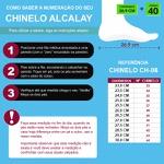 CHINELO ALCALAY RESINA
