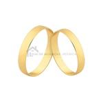 Alianças Finas De Noivado e Casamento Em Ouro