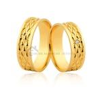 Aqui Esta Sua Próxima Alianças De Ouro Com Diamantes