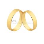 Alianças De Ouro 18k Para Casamento
