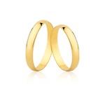 Alianças De Casamento De Ouro 18k
