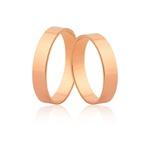 Alianças De Ouro Rosé 18k Preço Promocional