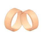 Alianças De Ouro Rosé 6,50mm Com Preço Promocional