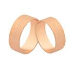 Preço Promocional Em Alianças De Ouro Rosé 18k