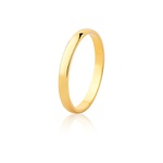 Aliança De Ouro Amarelo 18k (2,5mm)