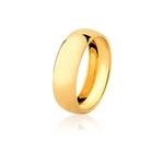 Aliança De Ouro Amarelo 18k (6,5mm)