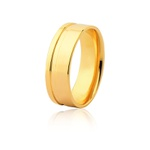 Aliança Ouro Amarelo 18k (7,00mm)