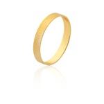 Aliança De Ouro Amarelo 18k (3mm)