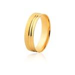 Aliança De Ouro Amarelo 18k (5,3mm)