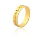 Aliança De Ouro Amarelo 18k (5mm)