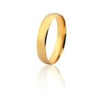 Aliança De Ouro Amarelo 18k (4mm)