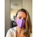 Máscara Onça Lavanda A_linea + TeBeAga