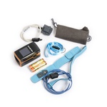 Oxímetro de Pulso PC60 com Sensores para Crianças e Recém-Nascidos