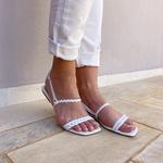 Sandália rasteira branca - Noronha