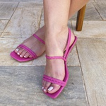Sandália rasteira pink - Noronha