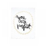 Quadro Em Canvas You Are Perfect - Mart