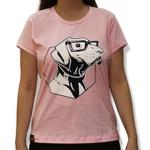 Camiseta intellectual Amorosso Rosa