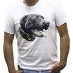 Camiseta PitBull Amorosso Branco