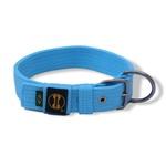 Coleira Para Cachorro Fit azul claro