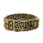 Coleira Para Cachorro Leopard + Guia de Passeio