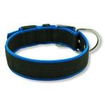 Coleira Para Cachorro Fit Lite (preto e azul)
