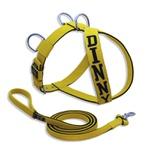Peitoral Amorosso® Personalizado (Amarelo e Preto) + Super Guia (Amarelo e Preto)