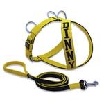 Peitoral Amorosso® Personalizado (Amarelo e Preto) + Super Guia (Preto e Amarelo)