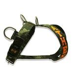 Peitoral Para Cachorro Camuflado Selva e Personalizado