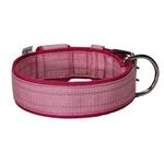 Coleira Para Cachorro Amorosso Slim (rosa e pink)
