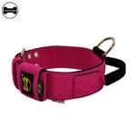 Coleira Para Cachorro Poderosso (Pink e Preto)