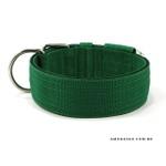 Coleira Para Cachorro Amorosso (verde e preto)