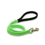 Peitoral Tradicional Amorosso® (verde flúor e preto) + Guia Curta 80cm