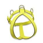 Peitoral Amorosso® Tradicional (Amarelo Flúor e Preto)