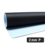 Placa De Resina Carbonium Preta - Fluídica 2 Mm (55 x 70 Cm)