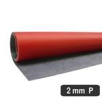 Placa De Resina Carbonium Vermelha - Fluídica 2 Mm (55 x 70 Cm)